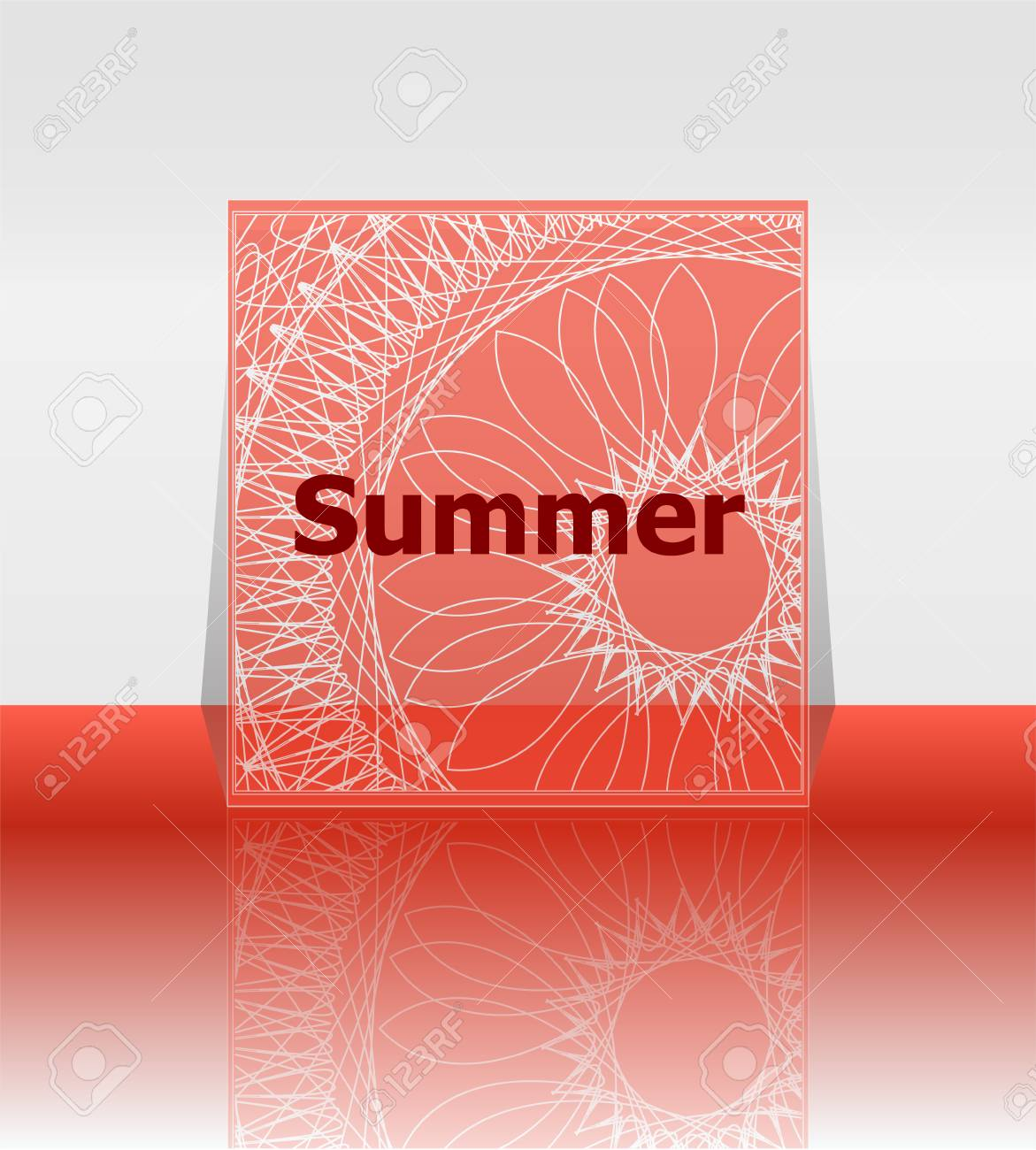 Hello Summer Poster. Summer Background. Effects Poster, Frame. Happy Holidays  Card,