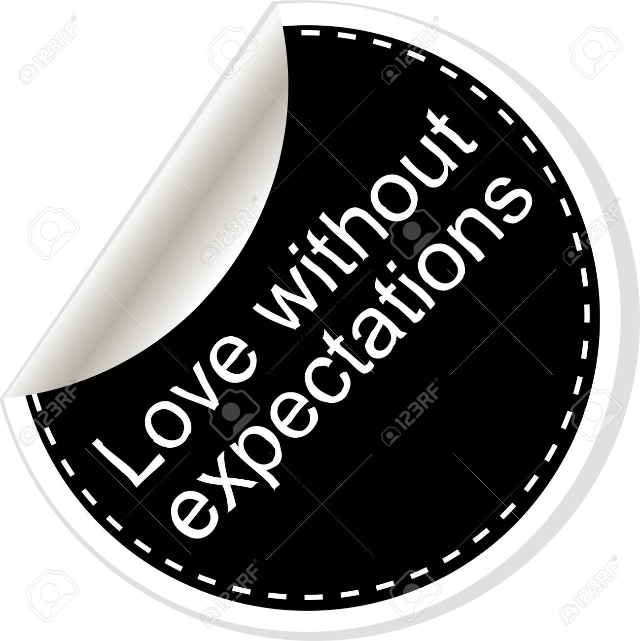 Liebe ohne erwartungen
