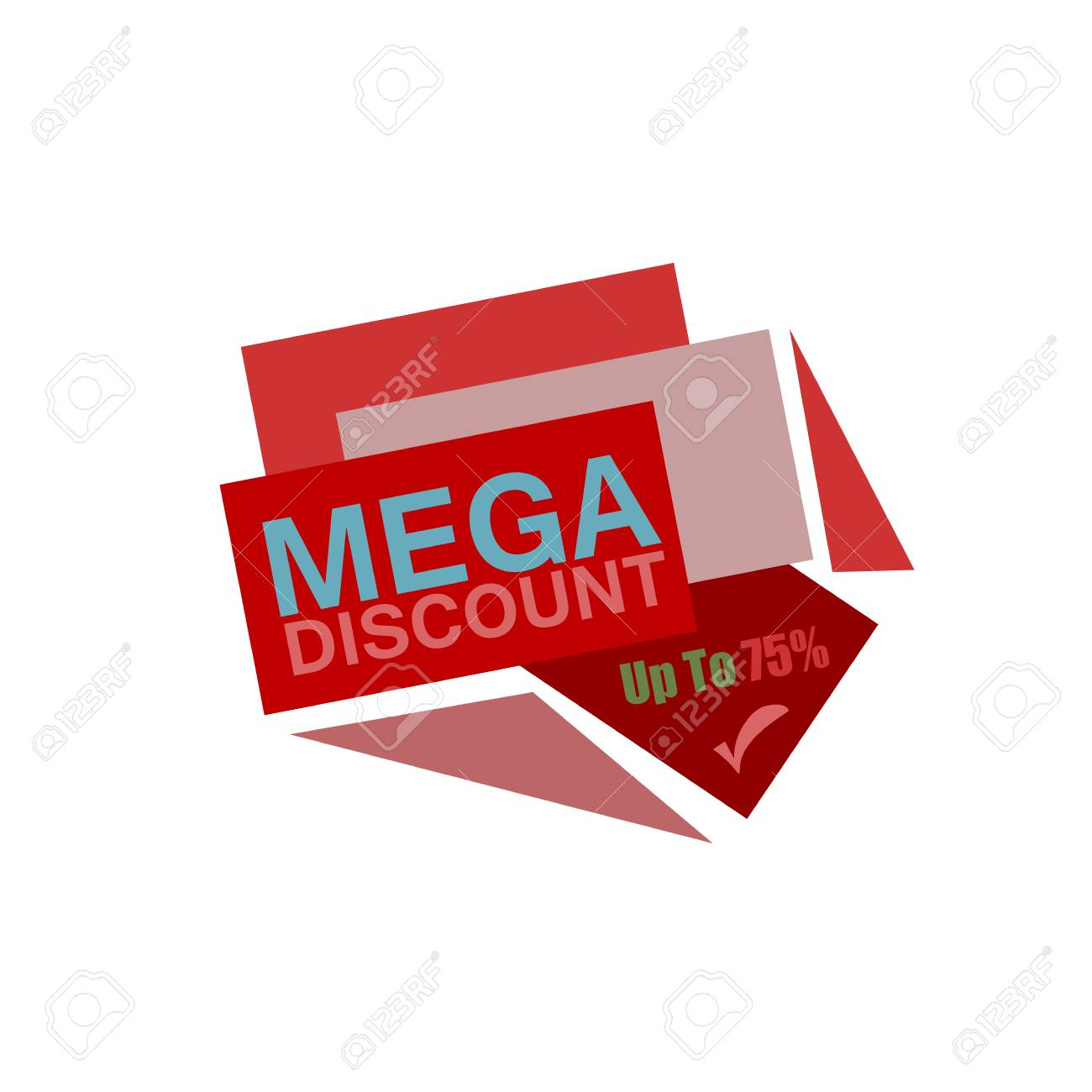 super discount sale banner vector isolated sale tag special