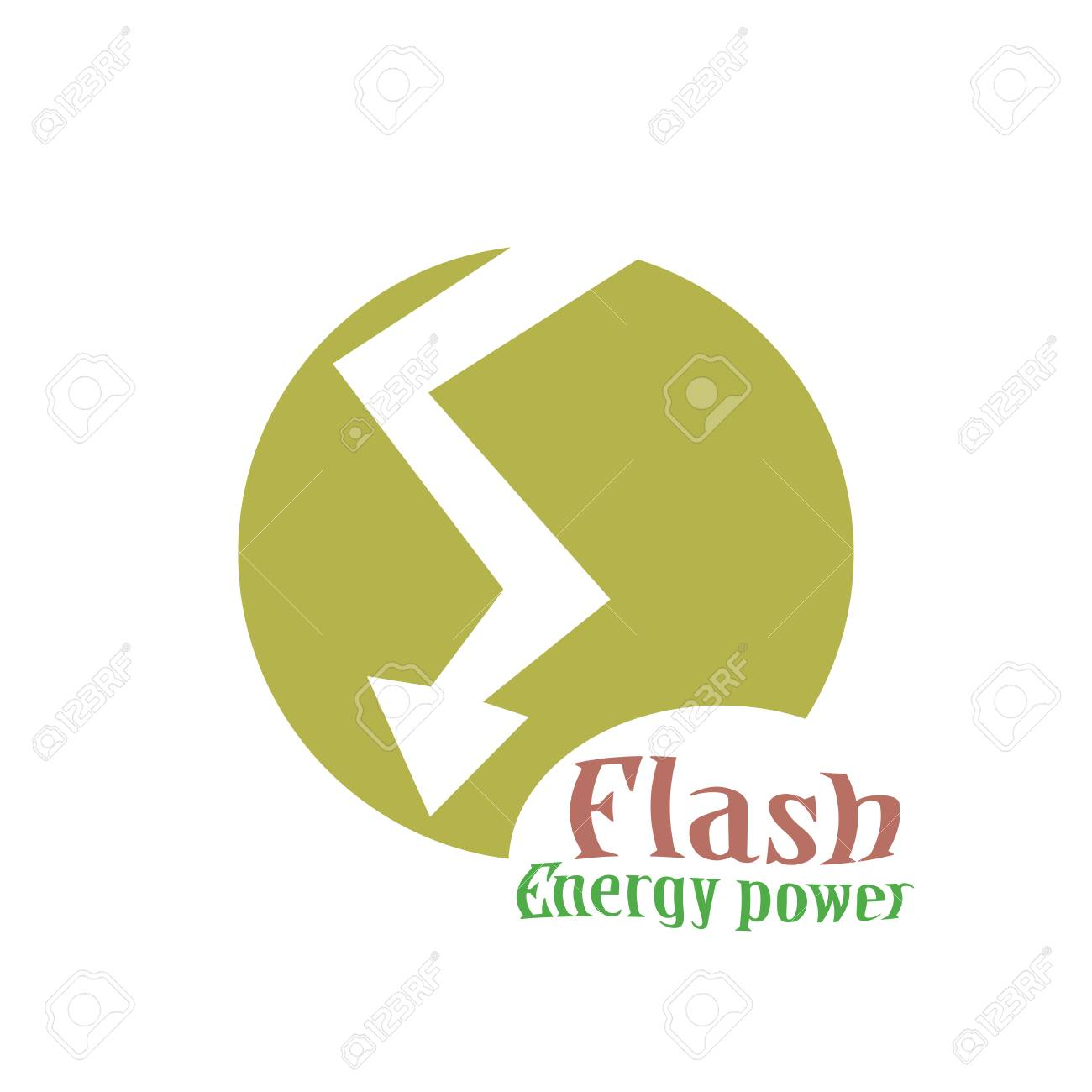 Lighting Bolt Flash Logo Design Template Fast Quick Rapid Icon Concept Symbol Thunderbolt Logotype