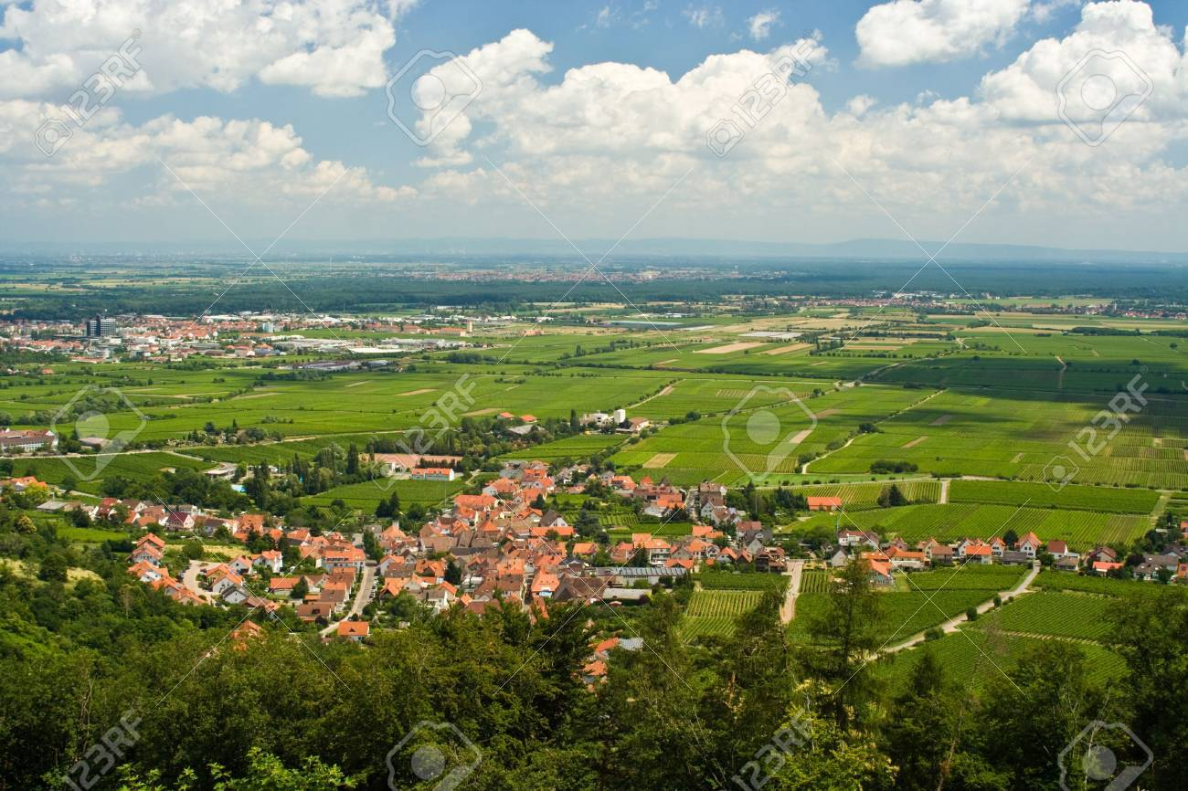 Rhine Valley in Germany Stock Photo - 5254105