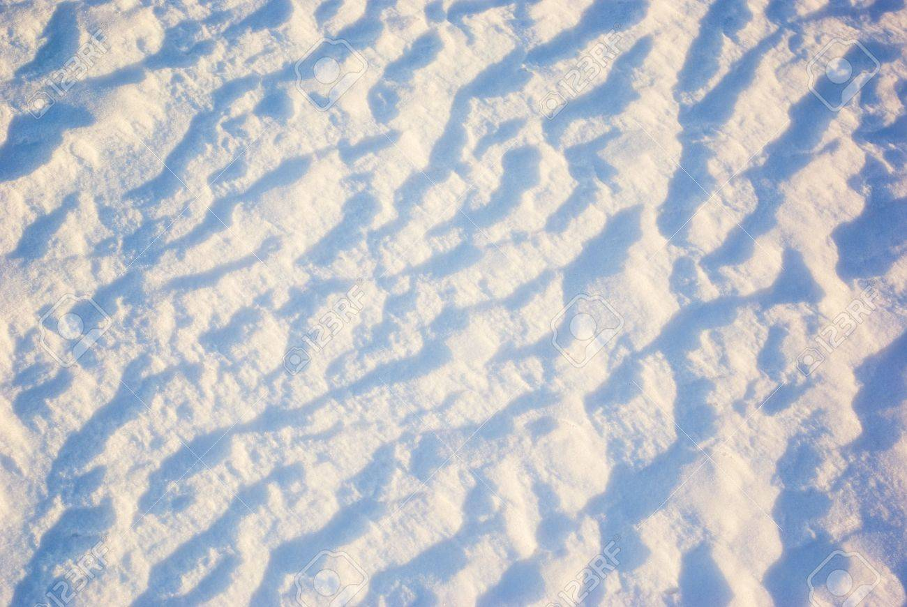 Texture of the snow surface, as a winter abstract background Stock Photo - 6425647