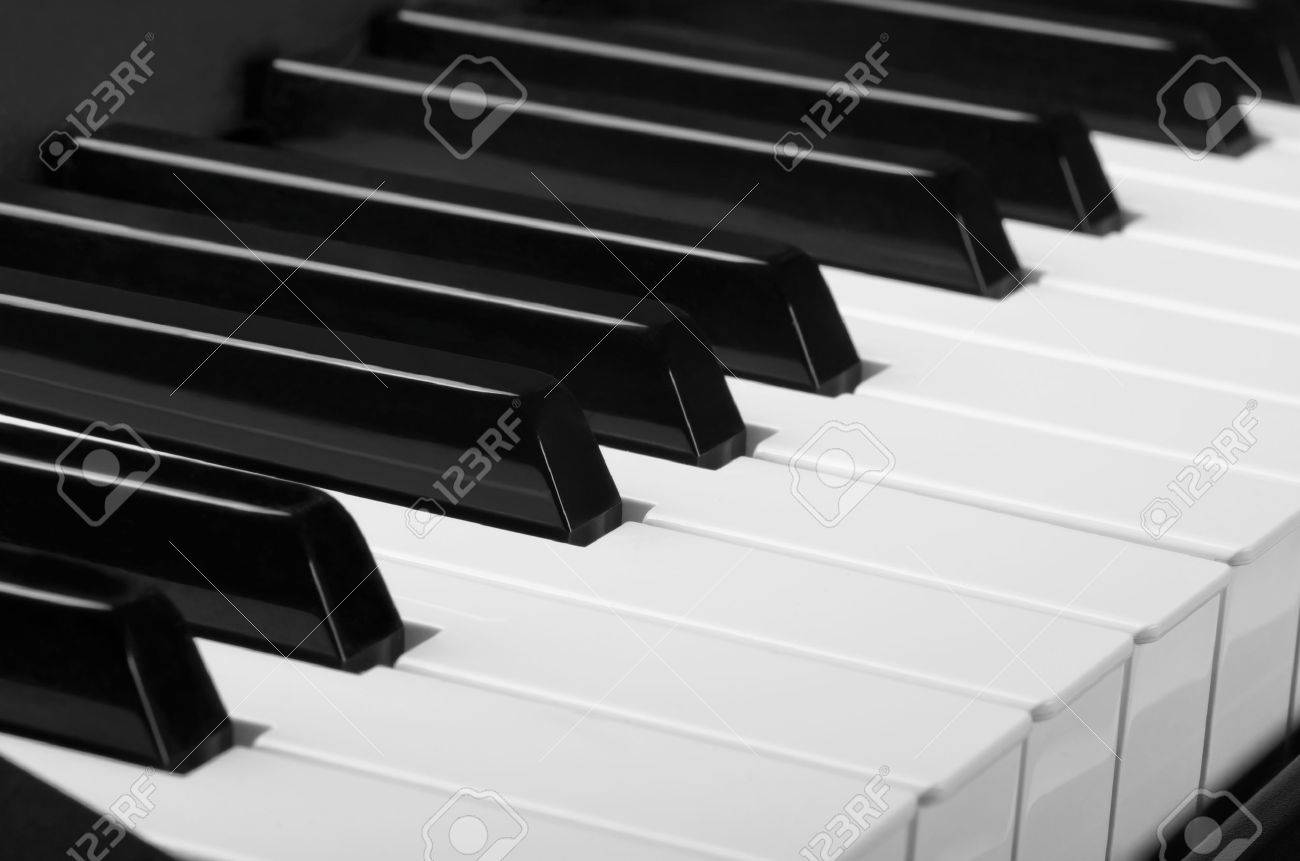 Piano Without Black Keys Piano Keys White And Black