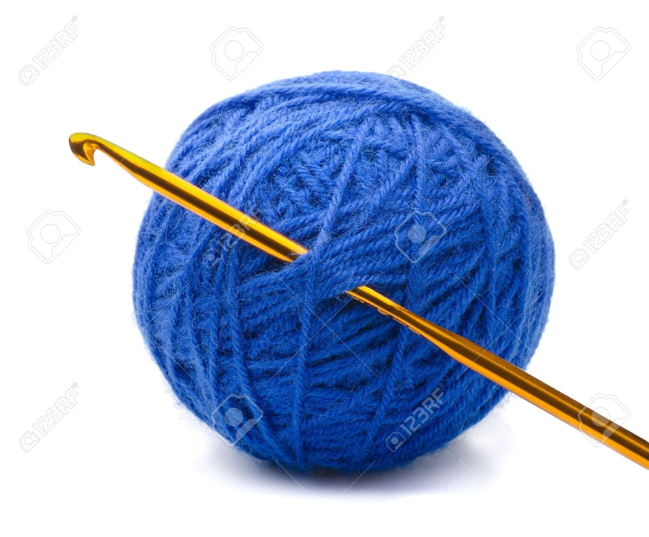 Crocheting Needles And Yarn