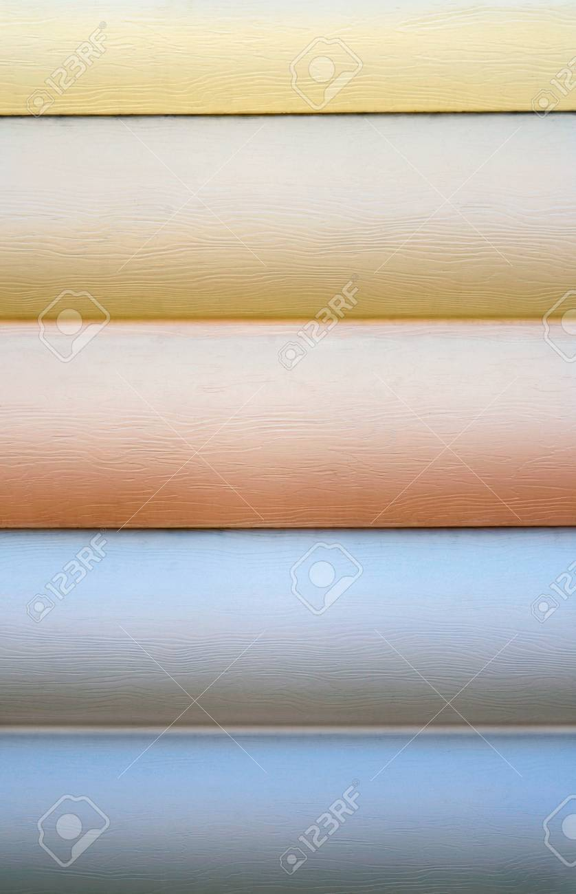close up of vinyl siding samples stock photo picture and royalty