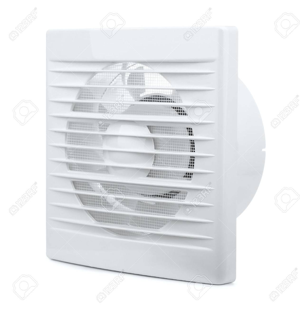 Wall electric extractor fan isolated on white - 51014773