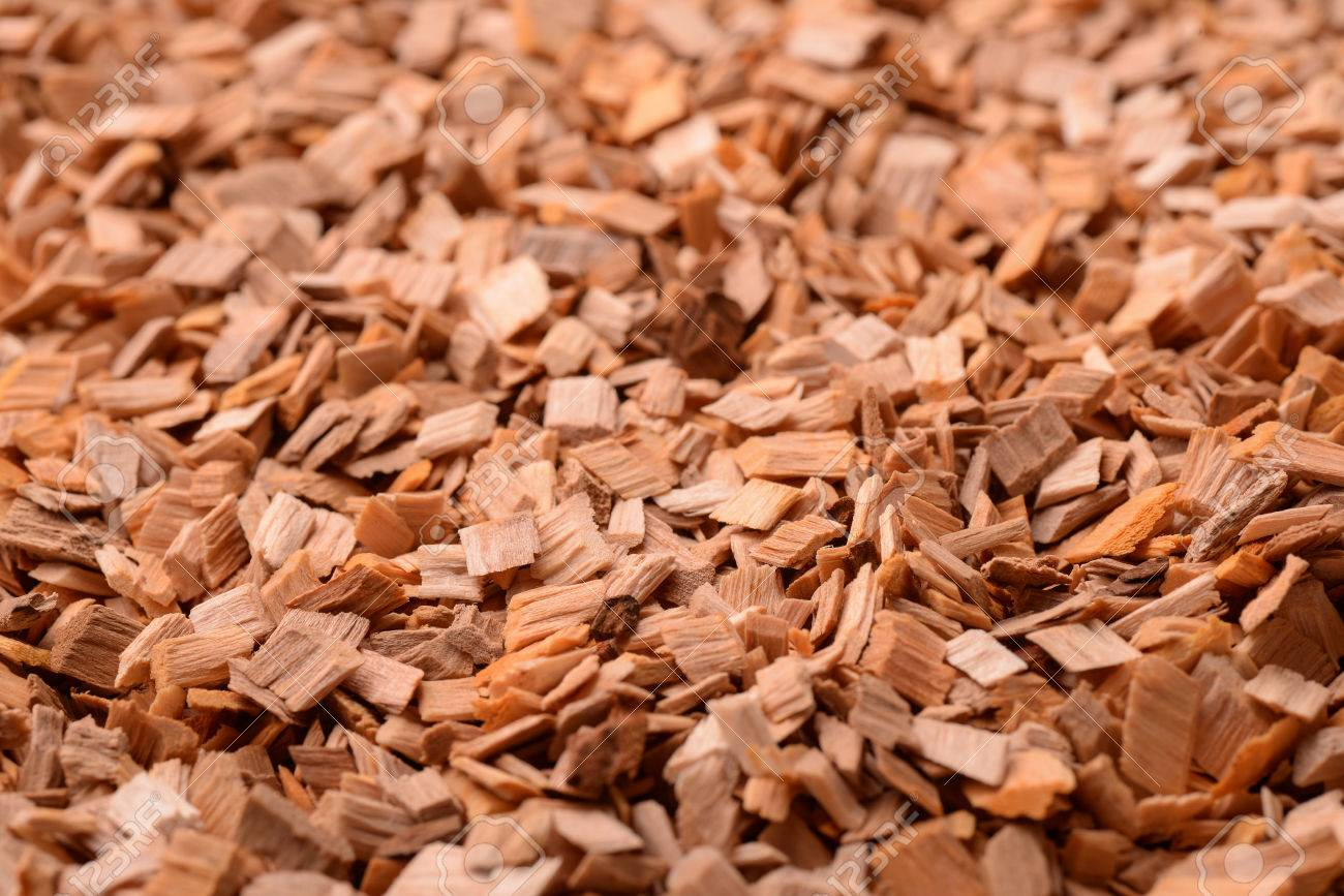 Background of wood chips - 52578450