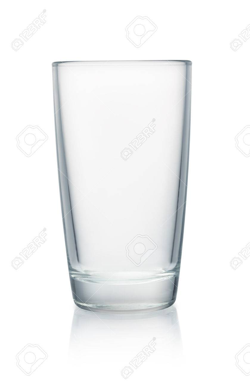 Empty glass isolated on white - 59337771
