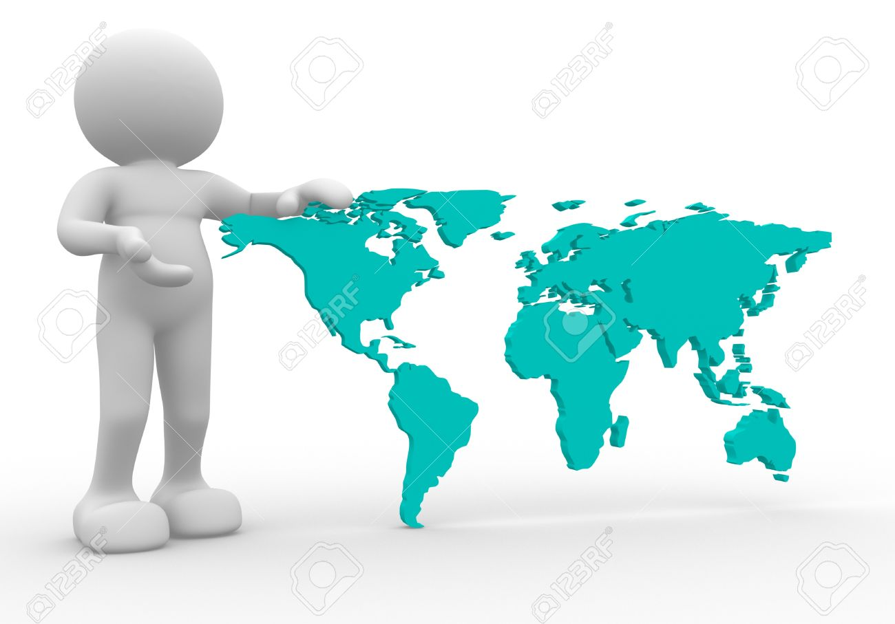 3d person icon with the world map this is a 3d render illustration 3d person icon with the world map this is a 3d render illustration stock illustration gumiabroncs Choice Image