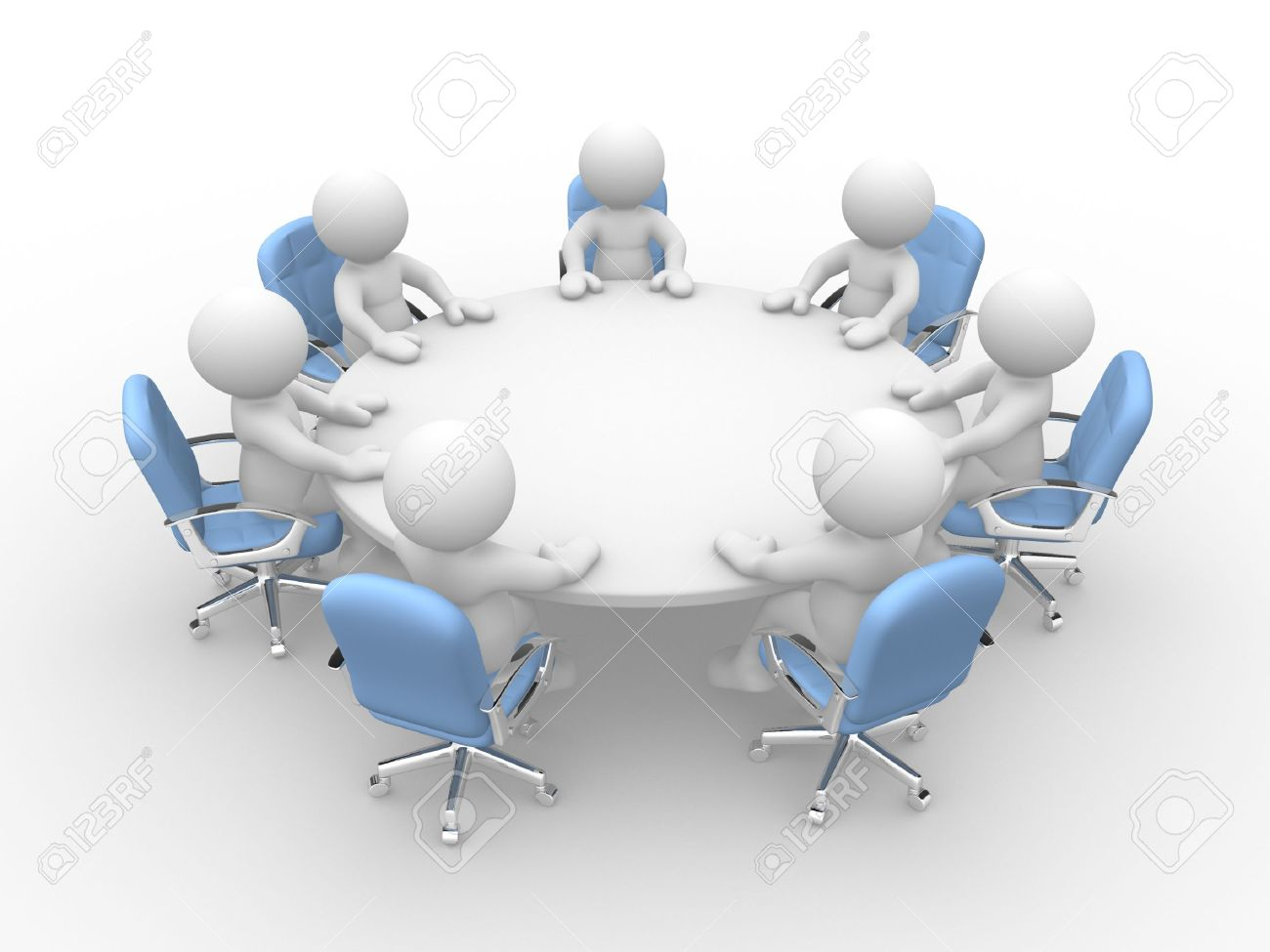 Round table meeting icon - Gallery Of Round Table Meeting Icon