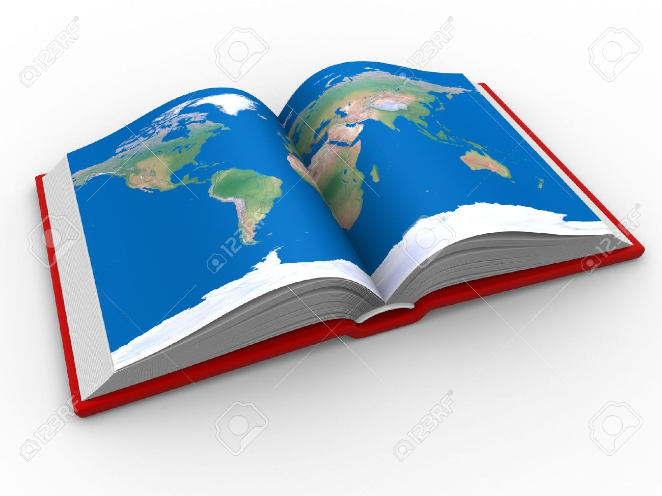 An open book with the world map 3d render stock photo picture and an open book with the world map 3d render stock photo 14802669 gumiabroncs Image collections