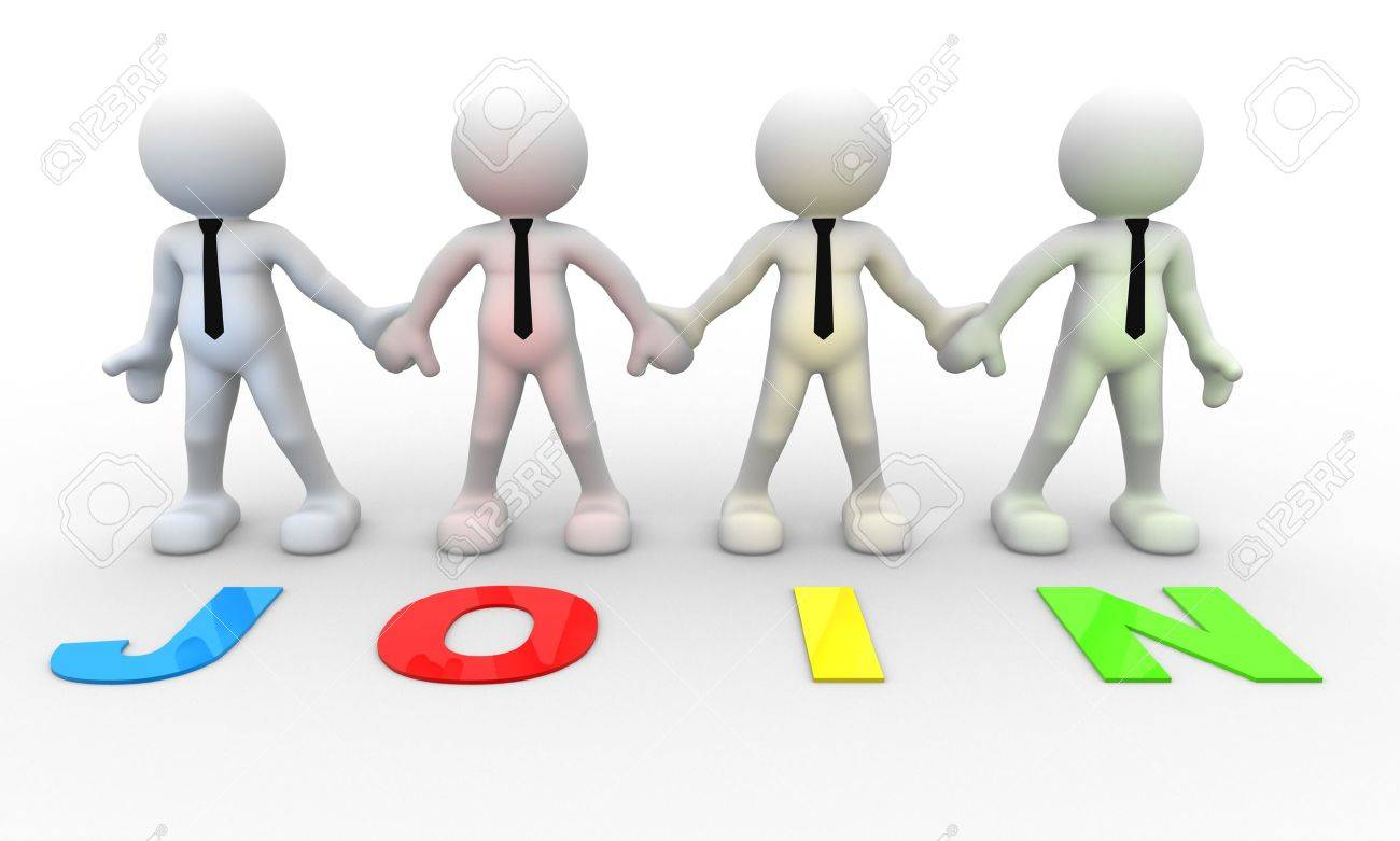 3d people - men, person together . Businessman and word
