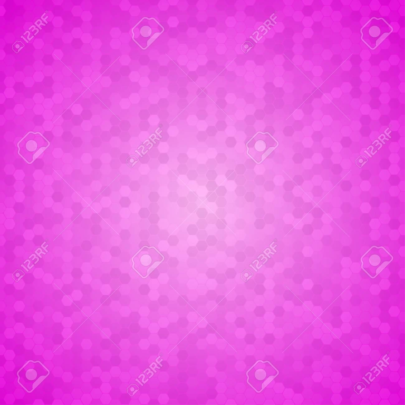 Mosaik Fliesen Honeycomb Vector Background Kamm Halbton Fone Rosa