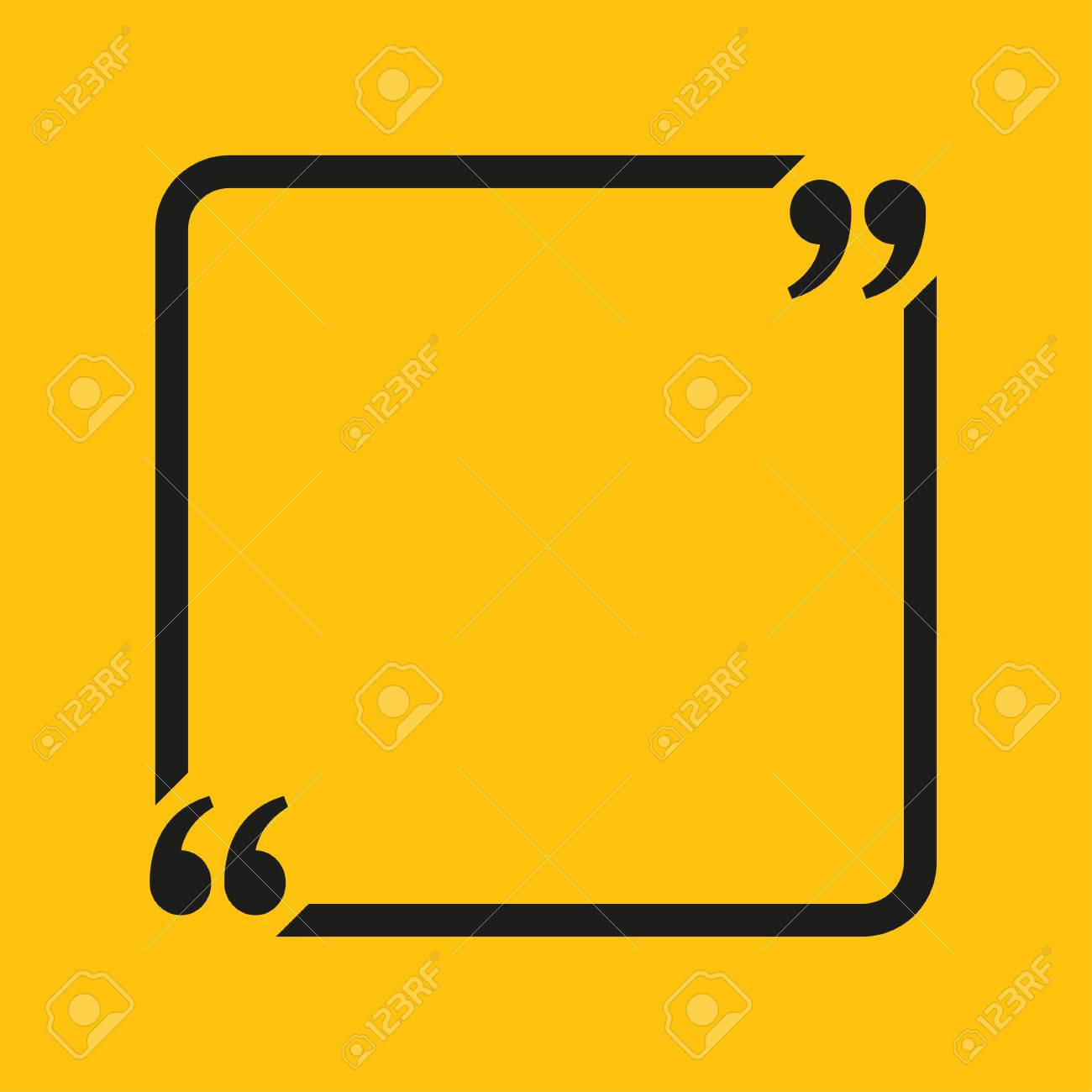 Quote blank template quote square empty template heart business quote blank template quote square empty template heart business card template paper sheet reheart Image collections