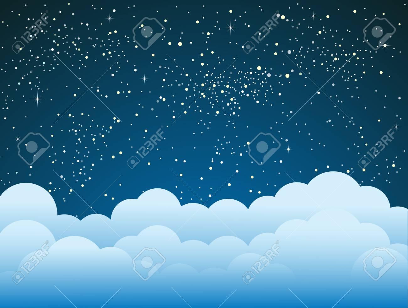 Dark Blue Sky With Clouds Wallpaper الصور Joansmurder Info
