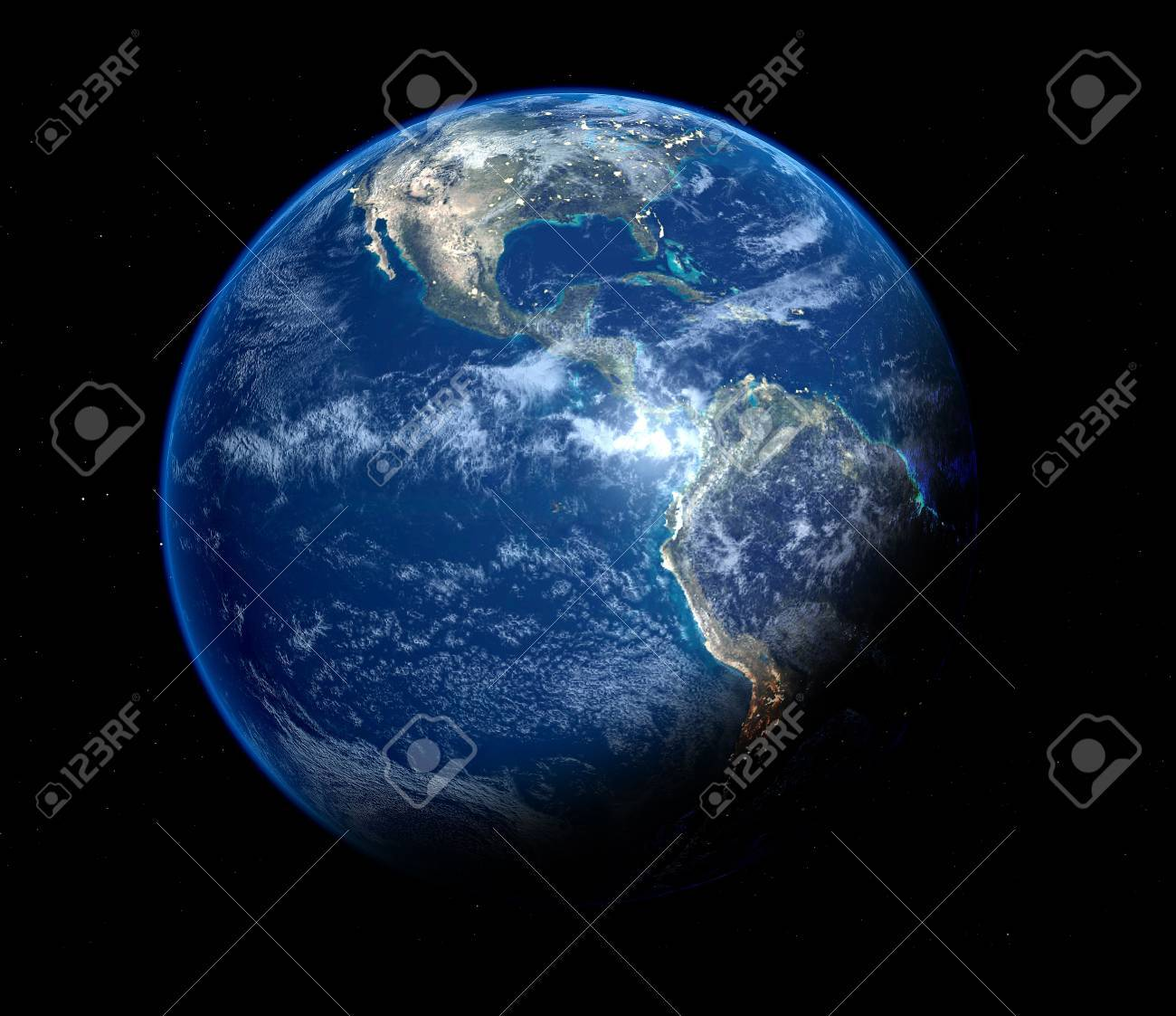 blue earth Stock Photo - 793406