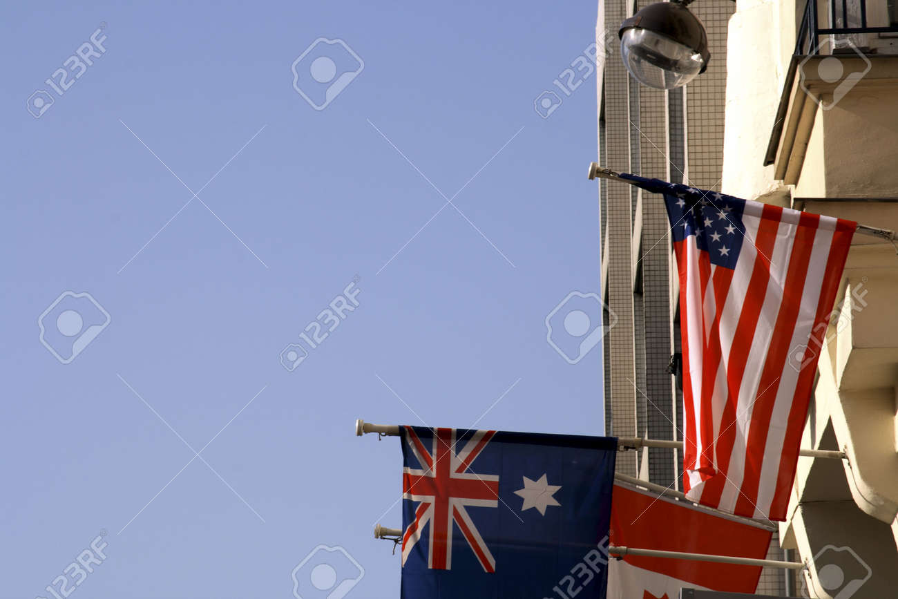 American and its Allies Stock Photo - 782346
