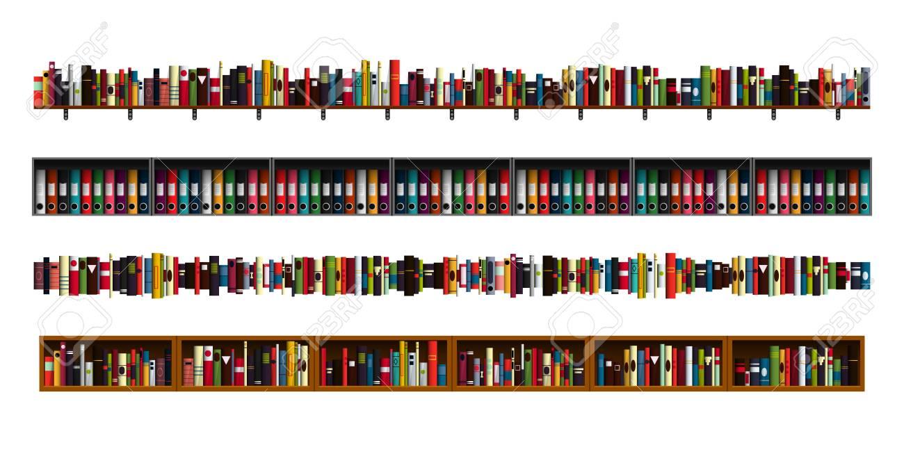 Books Border Clipart - Books Library