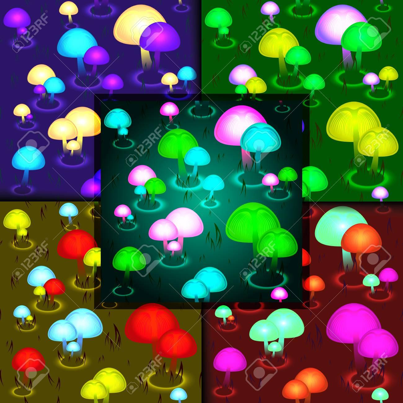 Bioluminescent Forest Fantasy Art