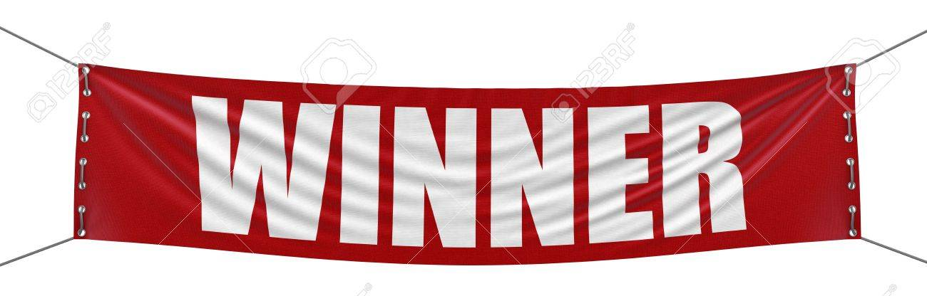 winner banner stock photo picture and royalty free image image