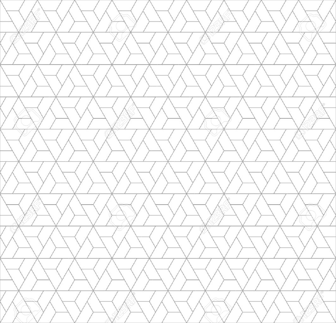 Abstract Seamless Geometric Pattern With Minimalist Triangle Royalty Free Cliparts Vectors And Stock Illustration Image 56615582