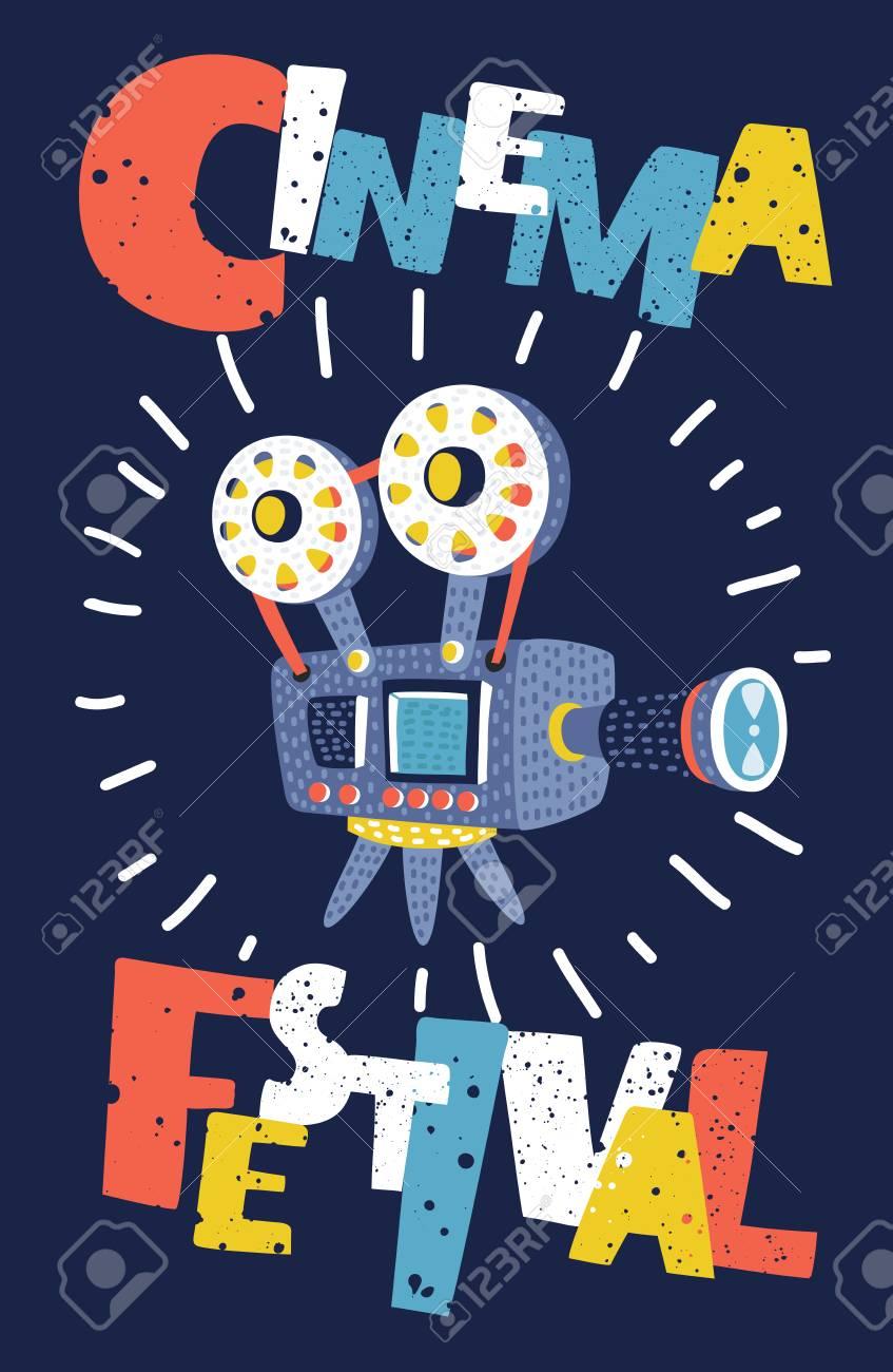 Cartoon Movie Poster Background
