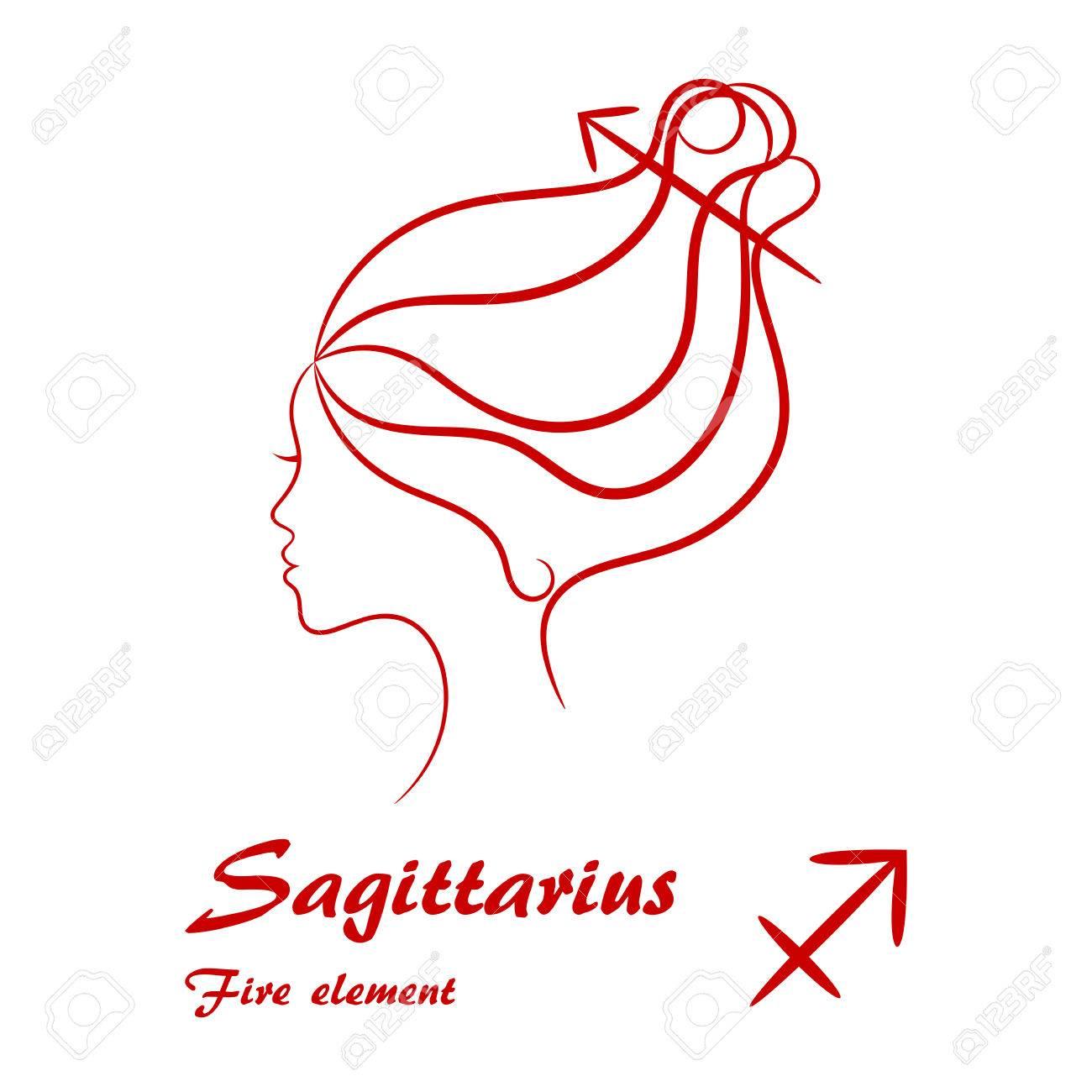 Sagittarius Profil weiblich
