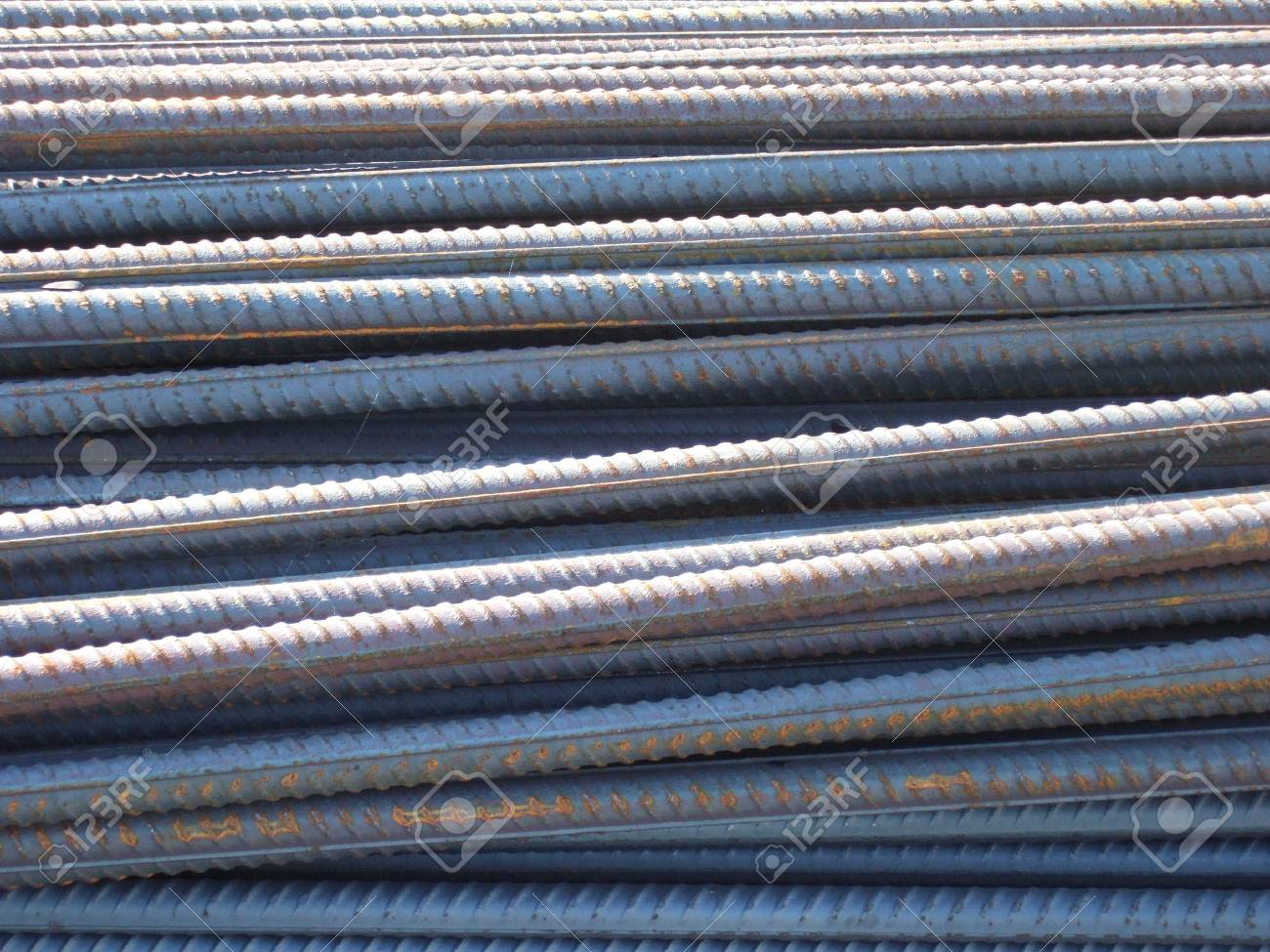 Steel bars 2 Stock Photo - 583867