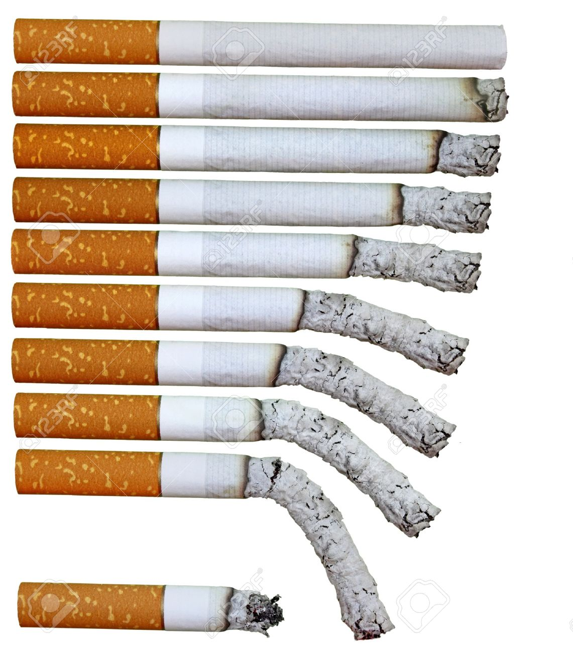 lit cigarette phases for backgrounds Stock Photo - 9496774