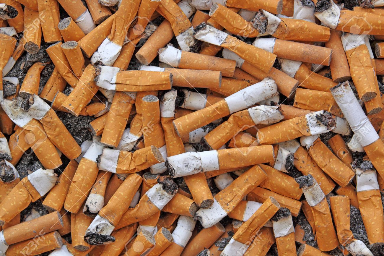 many cigarette butts Stock Photo - 12414854