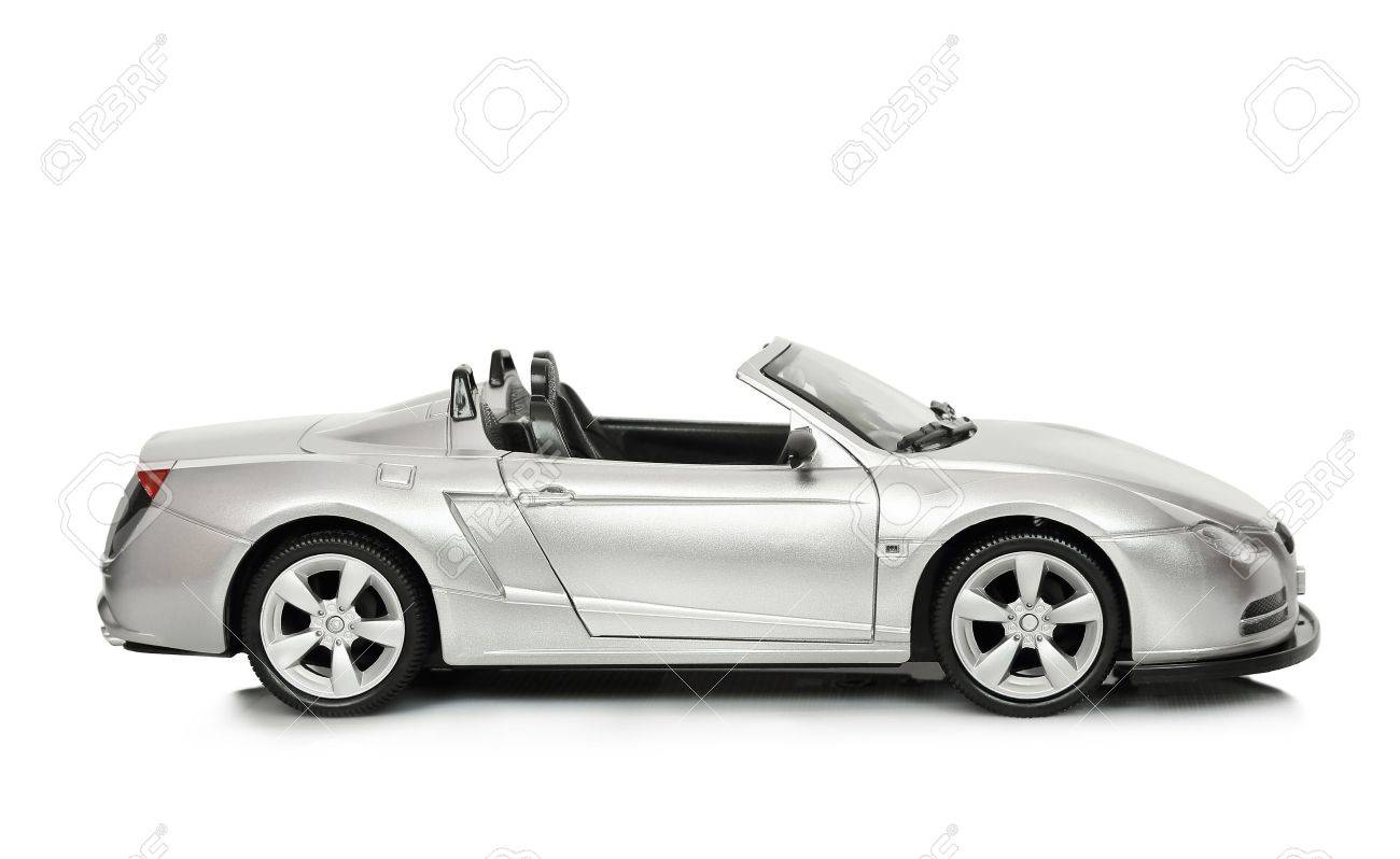 toy car convertible toy car on white