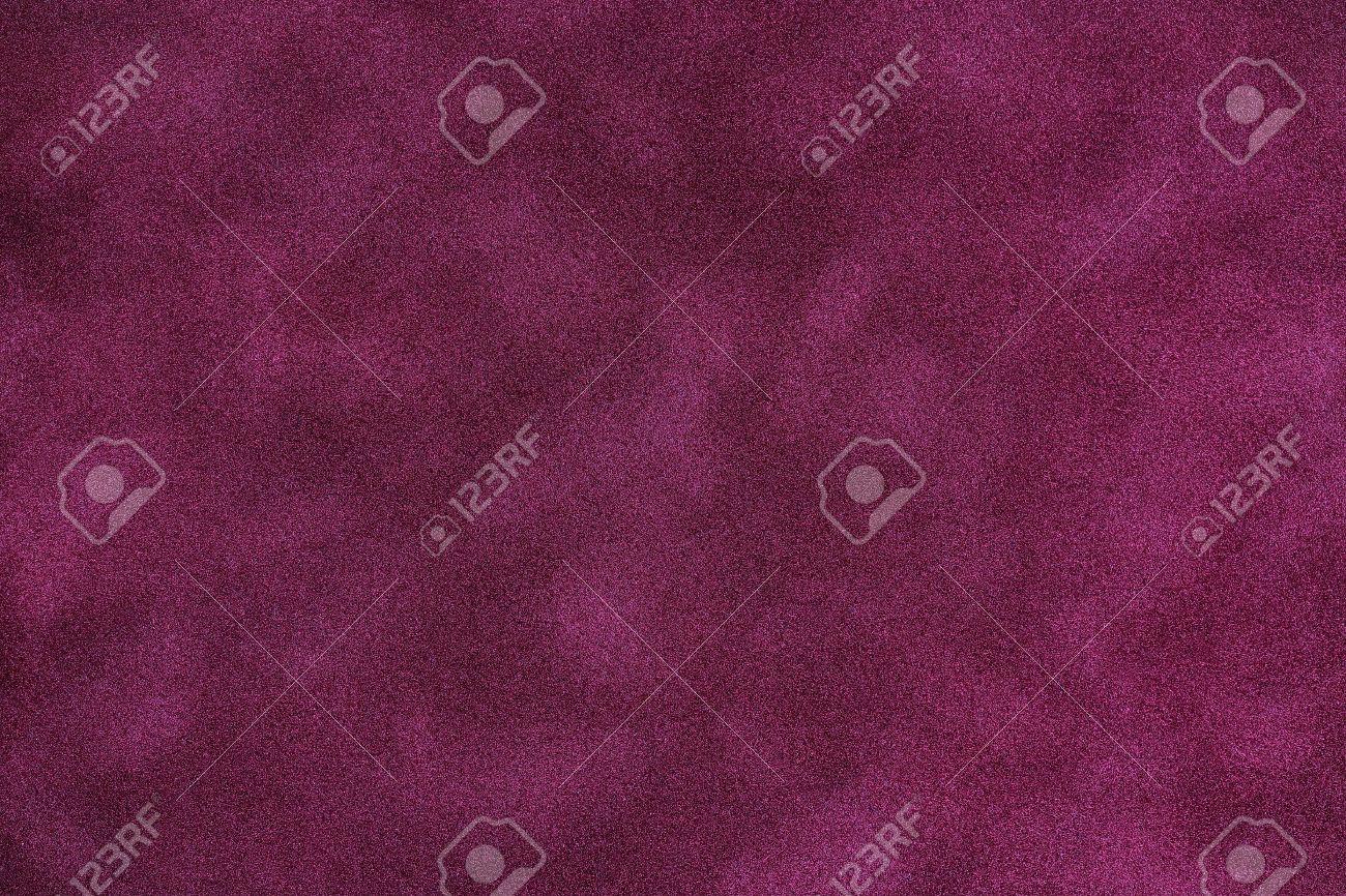 macro of purple felt texture for background use - 18785197