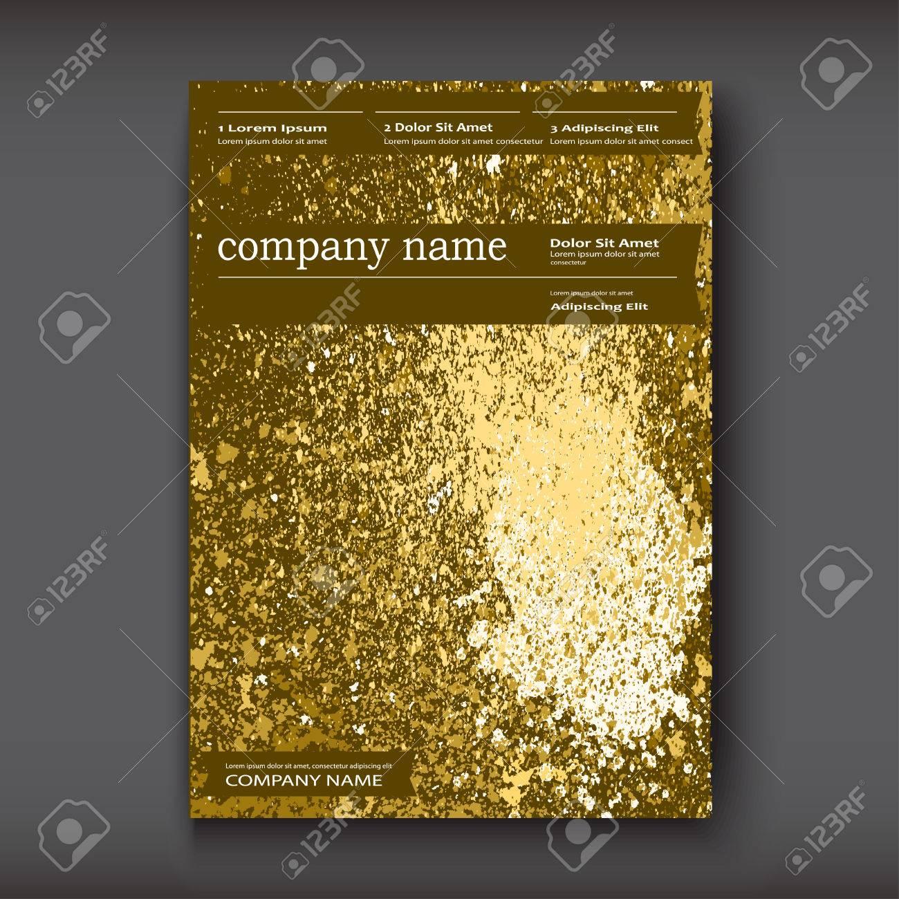 Gold Paint Splash, Splatter Explosion Glitter Artistic Frame ...