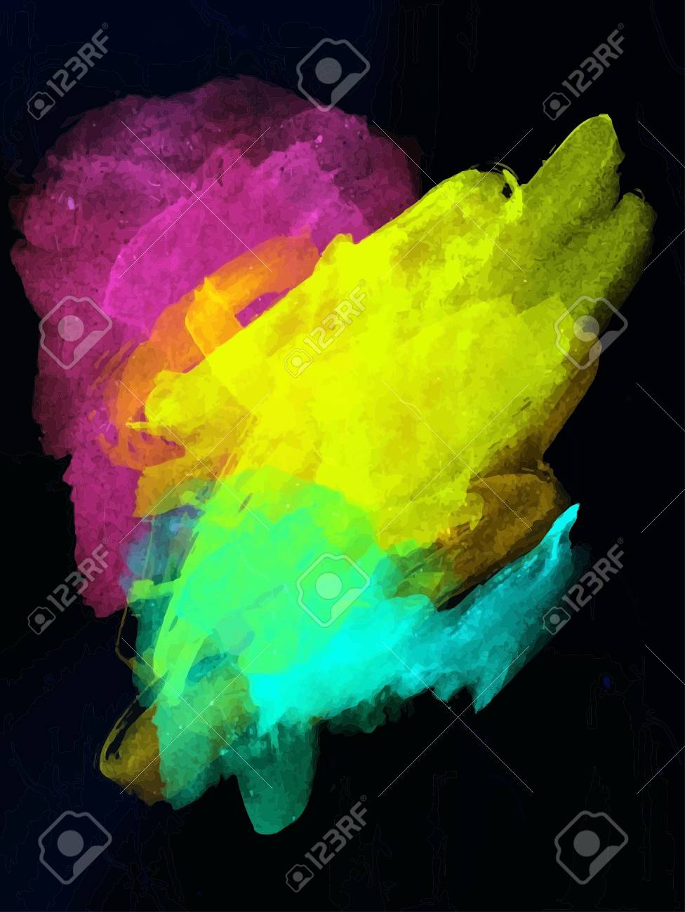 abstract art background digital painting color texture modern