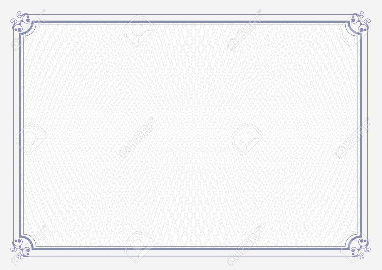 Blue border a4 size certificate grunge retro paper background blue border a4 size certificate grunge retro paper background stock photo 43687695 xflitez Gallery