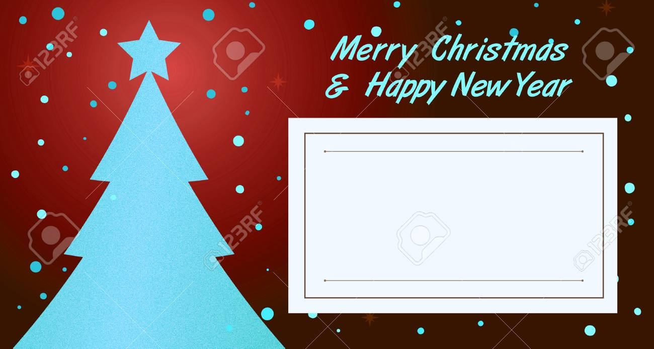christmas new year invitation greeting card stock photo 70718586