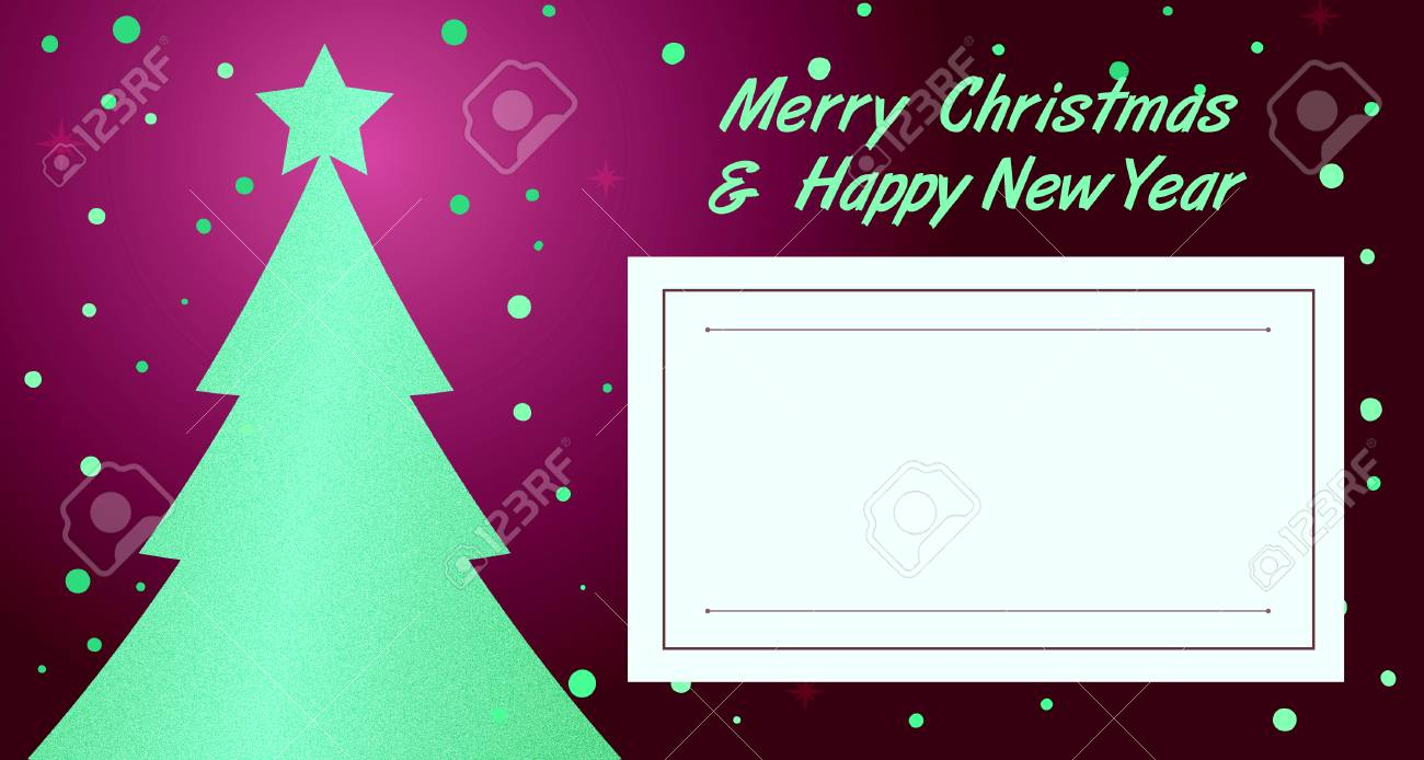 christmas new year invitation greeting card stock photo 70718590