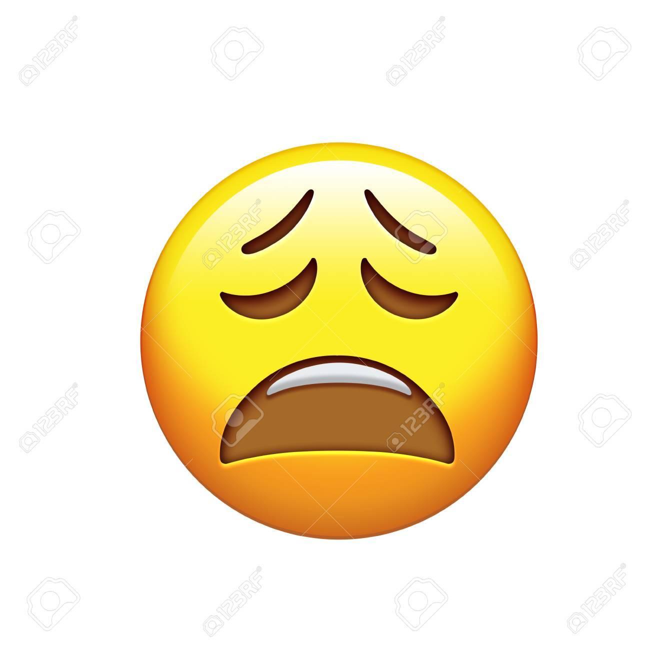 Traurige emojis
