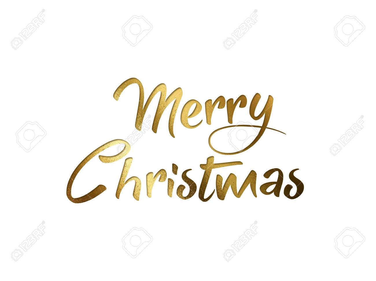 Merry Christmas Writing Images.The Golden Glitter Isolated Hand Writing Word Merry Christmas