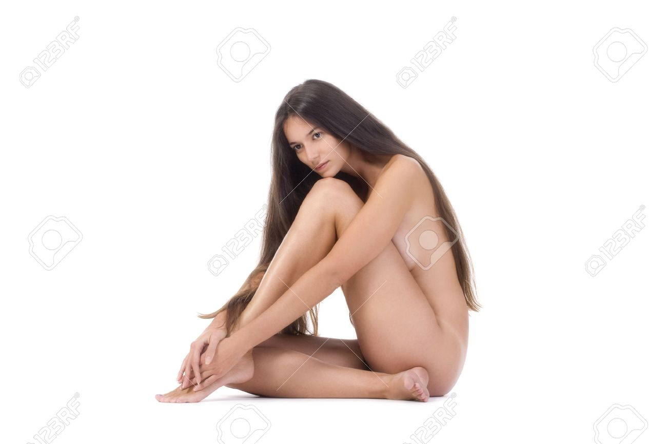 Nude women long hair