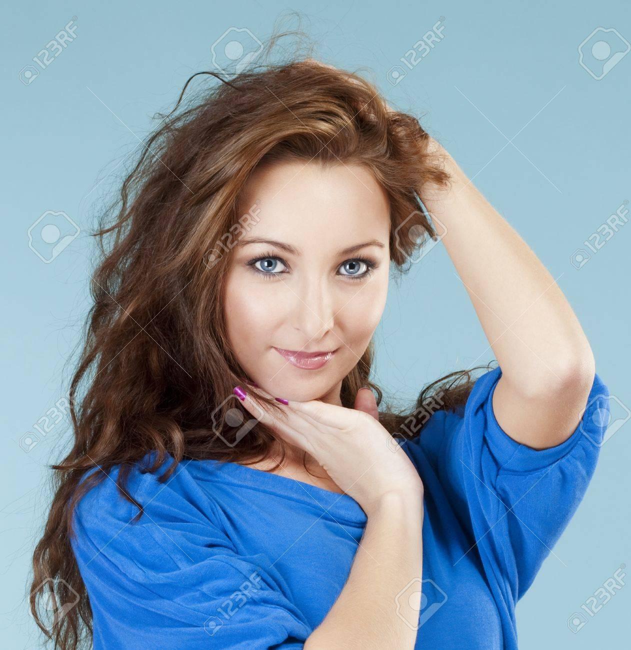 Mädchen haare braune hübsches 17 Hübsches Sexy