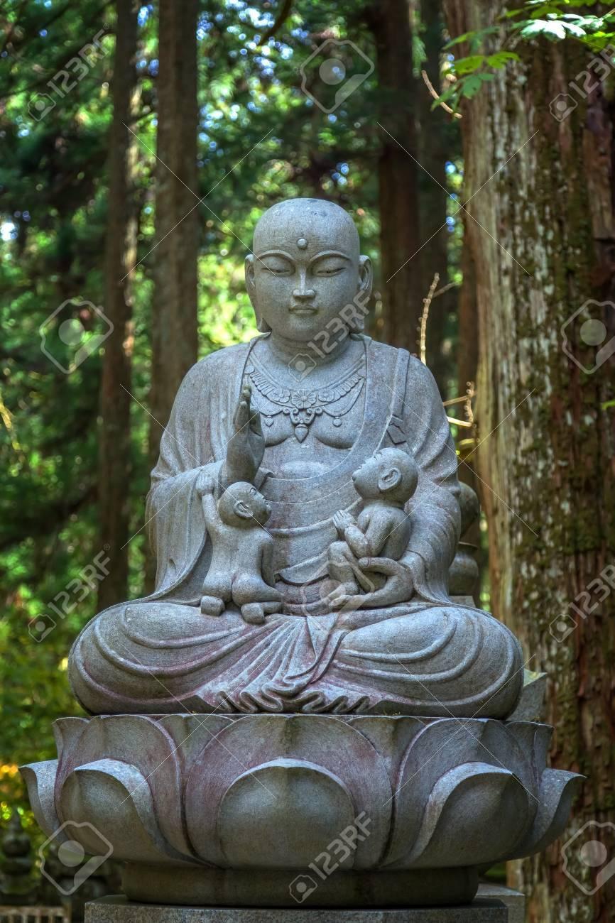 Estatuas De Buda Japons Jizo Bodhisattva En Koyasan Mt rea De