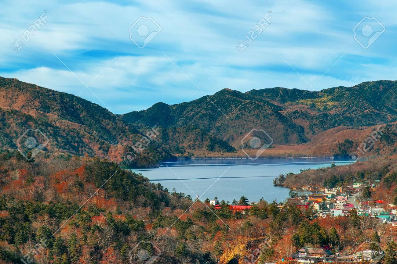 中禅寺湖日光国立公園栃木県 の...