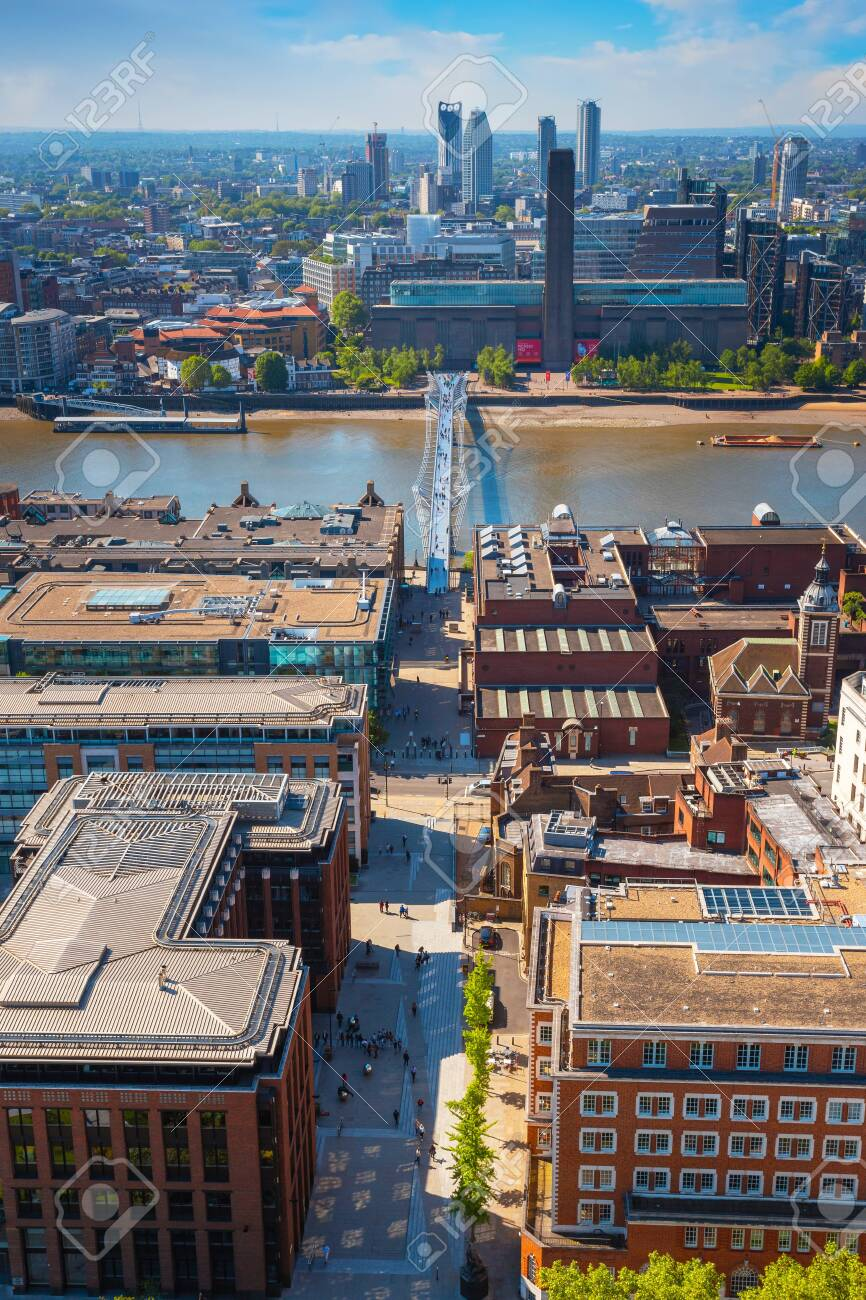 London Uk May 15 2018 View Of London Cityscape From The Golden Stock Photo Picture And Royalty Free Image Image 135434838