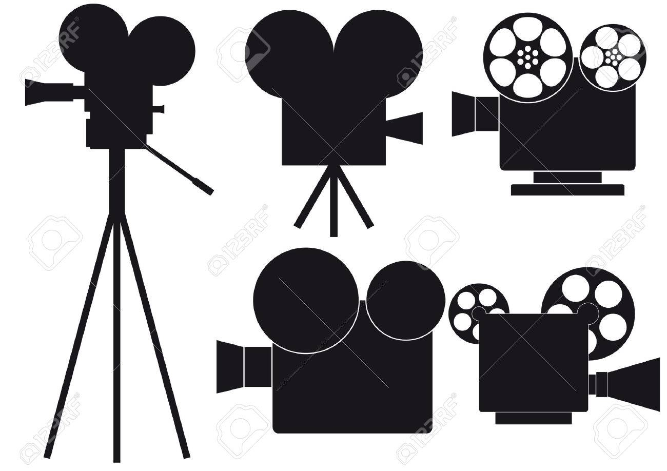 movie camera Stock Vector - 5500160