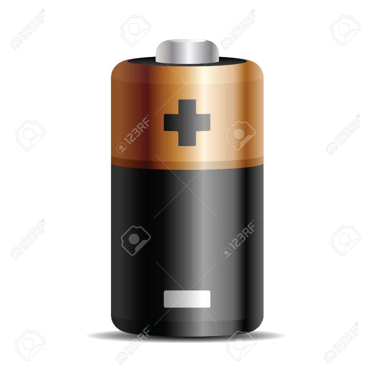 green battery, vector eps 8 Stock Vector - 17307455