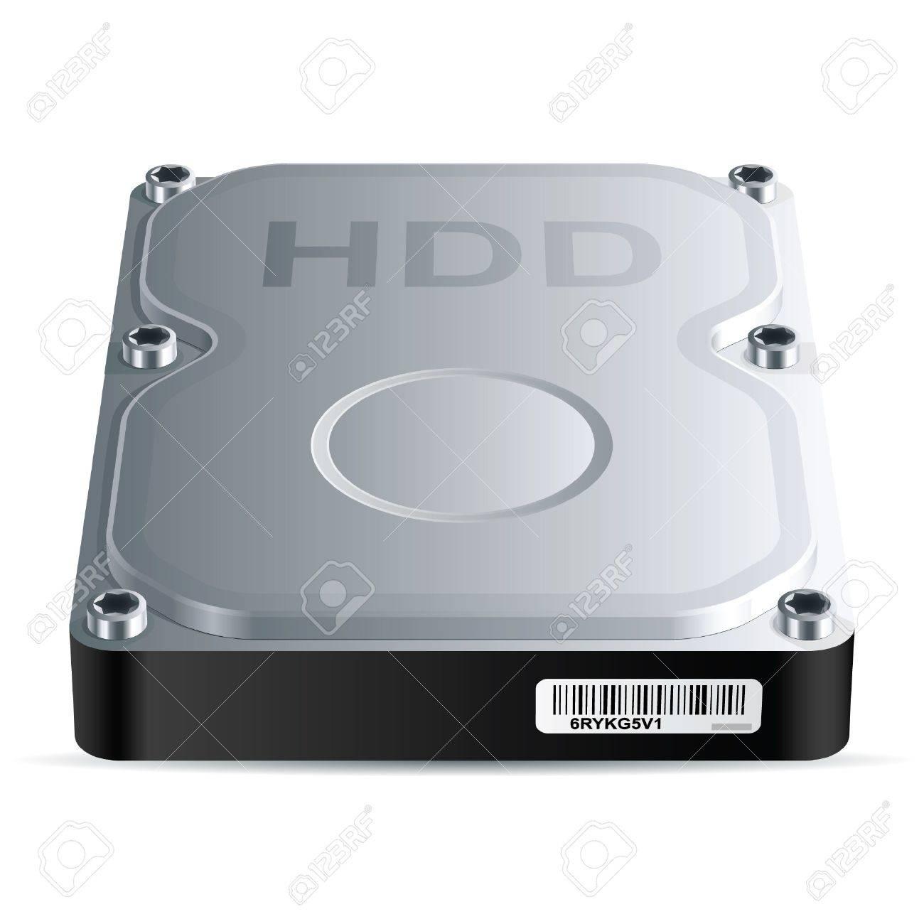 Hard disk drive HDD , vector EPS 8 - 17307590