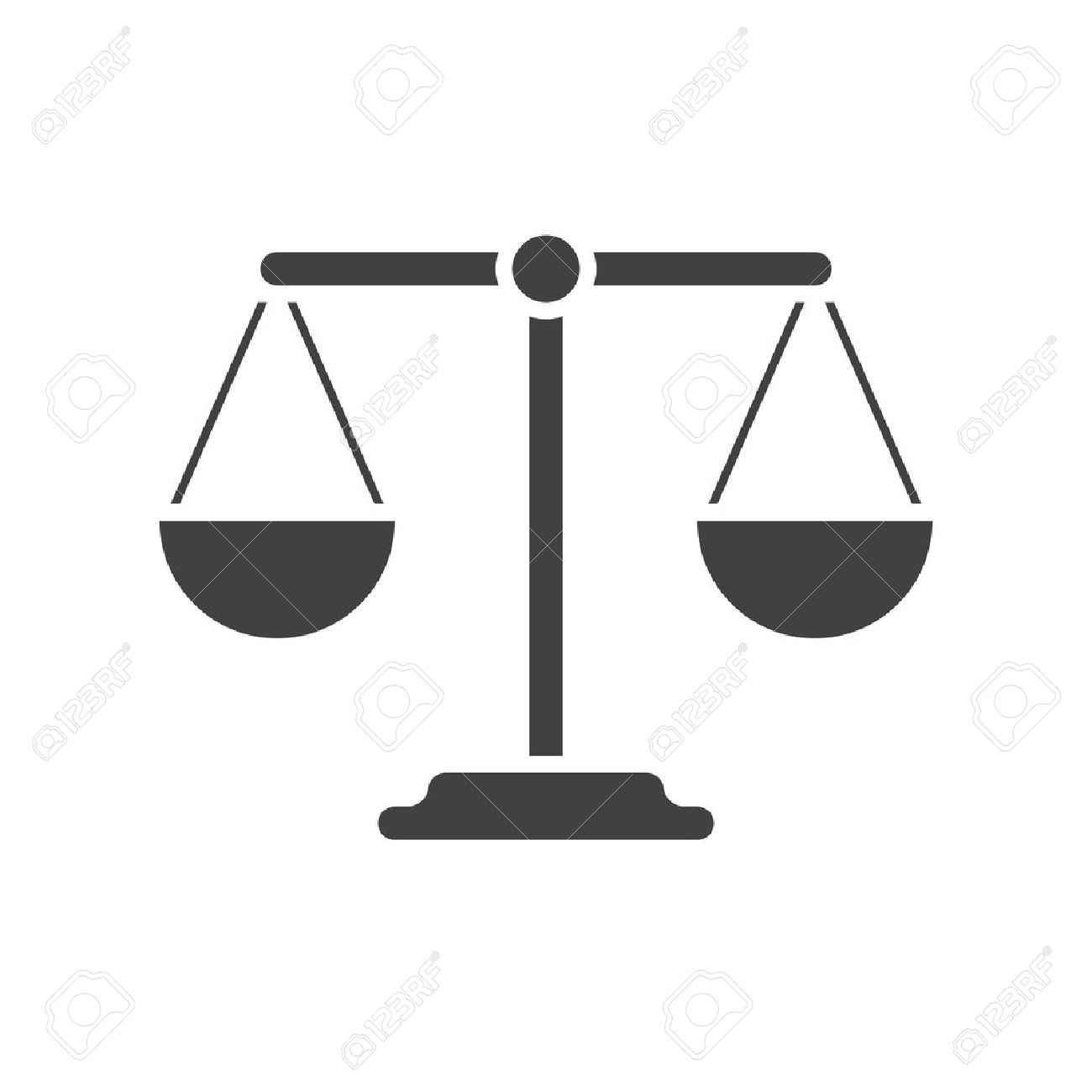 Integrity stock photos royalty free business images balance icon flat design biocorpaavc Image collections