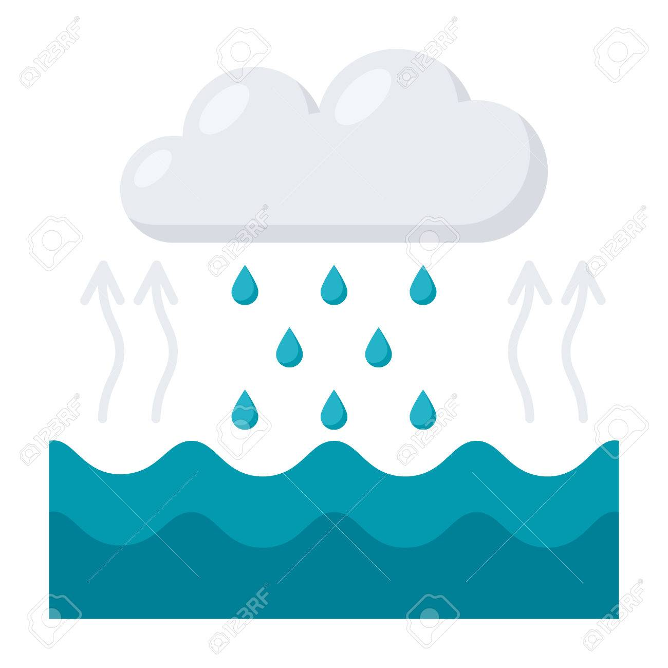 Water cycle diagram royalty free cliparts vectors and stock vector water cycle diagram ccuart Images