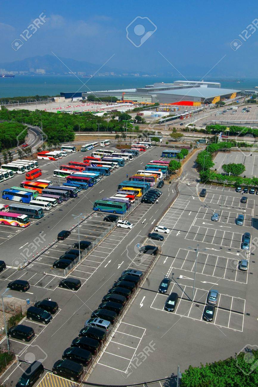 Car parking place in city Stock Photo - 17549311